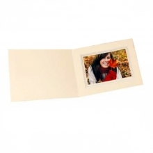 Kenro 6x4 Landscape Slip In Photo Folders Ivory- Pack Of 10