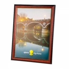 Kenro 6x4-Inch City Series Frame Brown