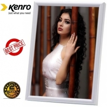 Kenro 6x4 Inch Frisco White Photo Frame