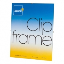 Kenro 6x4-Inch Glass Fronted Clip Frame