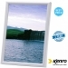 Kenro 6x6 Inch Frisco Square White Photo Frame