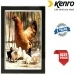Kenro 7x5 Inch Whisper Classic Photo Frame - Black Inlay