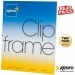Kenro 7x5-Inch Glass Fronted Clip Frame