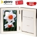 Kenro 7x5 Inch Twin Whisper Classic Photo Frame - White