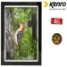 Kenro 8x6 Inch Whisper Classic Photo Frame - Black Inlay