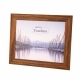 Kenro 8x6-Inch Toulon Series Wooden Photo Frame - Brown