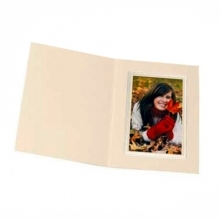 Kenro 8x6 Portrait Slip In Photo Folders Ivory - Pack Of 50