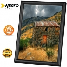 Kenro Frisco A2 Black Frame With Acrylic Front