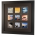 Kenro Bergamo Acrylic Fronted 9 Photos Matt Frame For 4x4 or 5x5-Inch