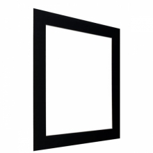 Kenro Black Bevel Mount 8x12-Inch Cut 5x7-Inch