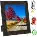 Kenro 6x4-Inch Black Glass Frame