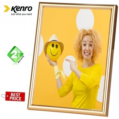 Kenro Frisco 7x5-Inch Photo Frame - Gold