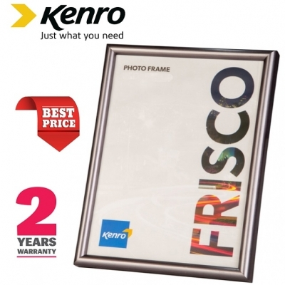 Kenro Frisco 7x5-Inch Pewter Photo Frame