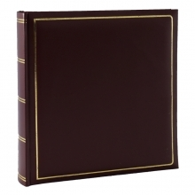Kenro Grafton Red 6x4-Inch Memo Album 200