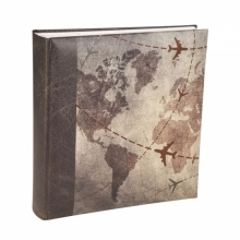 Kenro Holiday Series Global Traveller 6x4-Inch Memo Album 200