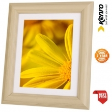 Kenro Rocco 8x6-Inch With Mat 7x5-Inch Photo Frame - Grey