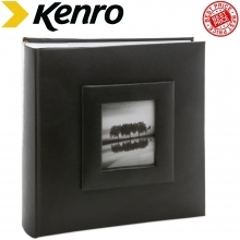 Kenro Savoy Black Self Adhesive Album