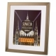 Kenro Senator A4 With 9x6-Inch Mat Photo Steel Grey Frame