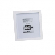 Kenro Sienna 8x12-Inch Frame With Mount - White