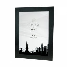 Kenro Tundra A3 Glass Fronted Frame - Black