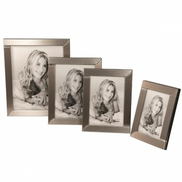 Kenro Twilight Diamante 7x5-Inch Frame - Silver