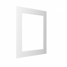 Kenro White Bevel Mount 8x12-Inch Cut 6x8-Inch