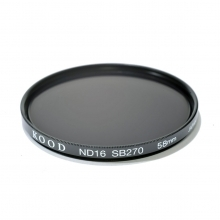 Kood 58mm ND16 Neutral Density Filter