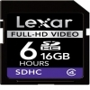 Lexar Full-HD Video SDHC 16GB