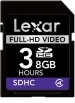 Lexar Full-HD Video SDHC 8GB