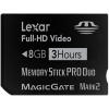 Lexar HD Video Memory Stick Pro DUO 8GB