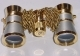 Gold/platinum LaScala Optics 3x25 Carmen Opera Glass