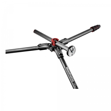 Manfrotto 190Go Carbon Fiber 4-Section Tripod with Head