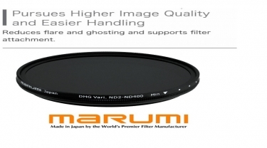 Marumi 58mm DHG Variable ND2-ND400 Neutral Density Filter