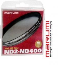 Marumi 72mm DHG Variable ND2-ND400 Neutral Density Filter