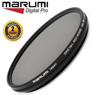 Marumi 77mm DHG Variable ND2-ND400 Neutral Density Filter