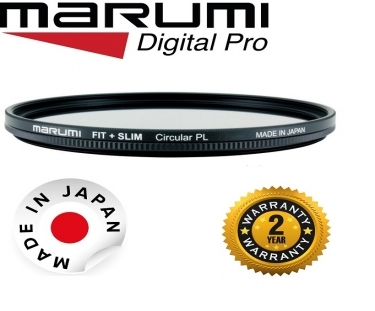 Marumi 77mm Fit Plus Slim Circular Polarizer Filter