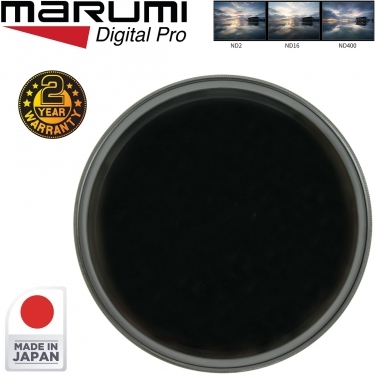 Marumi 49mm DHG Variable ND2-ND400 Neutral Density Filter