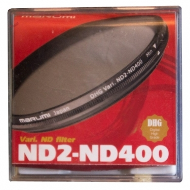 Marumi 82mm DHG Variable ND2-ND400 Neutral Density Filter