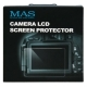 MAS LCD Protector For Sony A7II A7RII