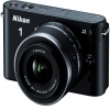 Nikon 1 Digital Camera J2 With 10-30mm and 30-110mm Lenses Black