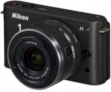 Nikon 1 J1 Black Digital Camera with 10-30mm Lens