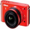 Nikon 1 Mirrorless J2 Digital Camera With 10-30mm VR Zoom Lens Orange