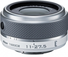 Nikon 1 NIKKOR 11-27.5mm f/3.5-5.6 Lens for CX Format White