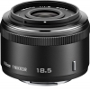 Nikon 1 Nikkor 18.5mm f/1.8 Lens For CX Format Black