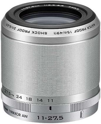 Nikon 1 Nikkor AW 11-27.5mm F3.5-5.6 AF Waterproof Lens Silver