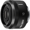 Nikon 1 Nikkor 10mm f2.8 Black Lens