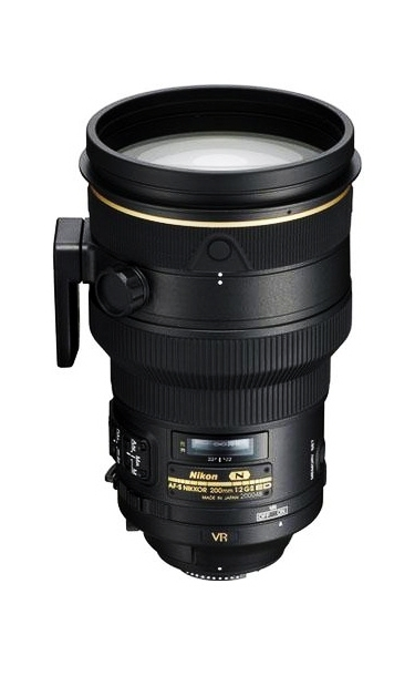 Nikon 200mm F2G IF-ED AF-S VR Lens For Nikon SLR Cameras
