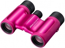 Nikon 8x21 Aculon W10 Water Proof Roof Prism Binoculars Pink