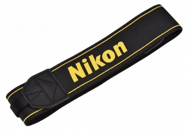 Nikon AN-DC16 Neck Strap Black For Nikon D810A Camera
