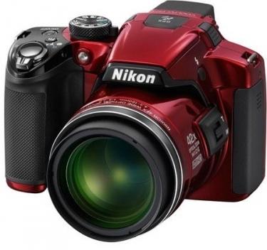 Nikon P510 Coolpix 16 Mega Pixel Digital Camera Red Uk